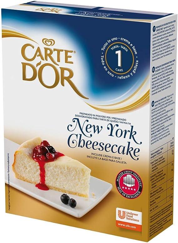 Carte DOr Tarta de queso New York cheesecake deshidratado - 1 ...