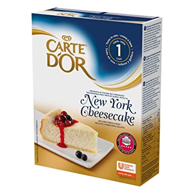 Carte DOr Tarta de queso New York cheesecake deshidratado - 1 tarta para 10