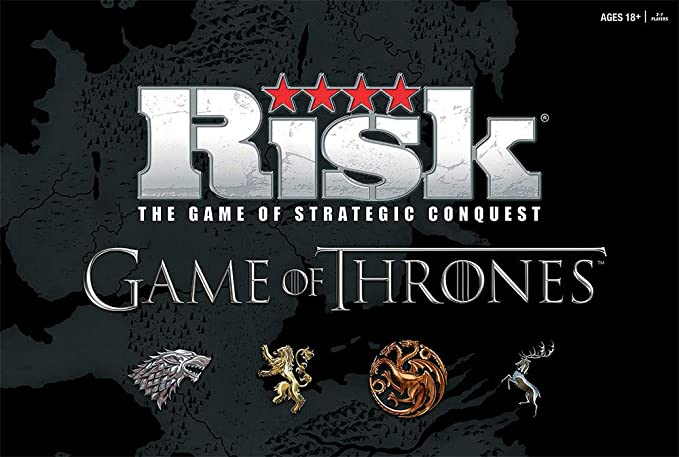 USAOPOLY Risk Game of Thrones Strategy Board Game | The for Game of Thrones Fans | Official Game of Thrones Merchandise | Based on The TV Show on HBO ...