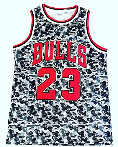 Price comparison product image Men's Bape Jordan Jersey Bulls 23 Limited Edition (Medium)