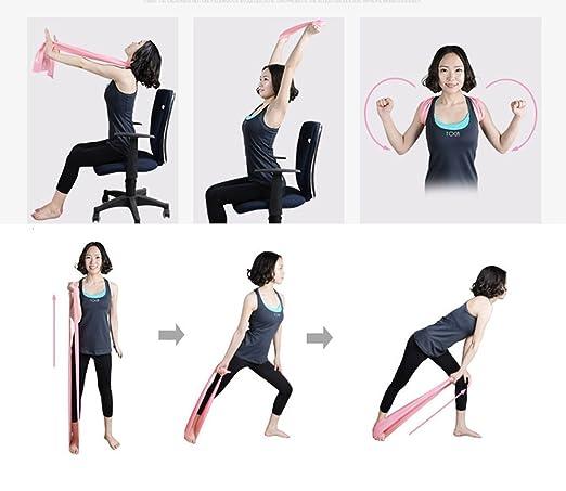 Amazon.com: Wisdomlife 1.5M Yoga Elastic Strap Exercise Loop ...