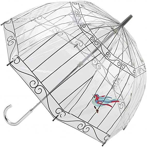 Fulton Lulu Guinness Cage Doiseau Parapluie