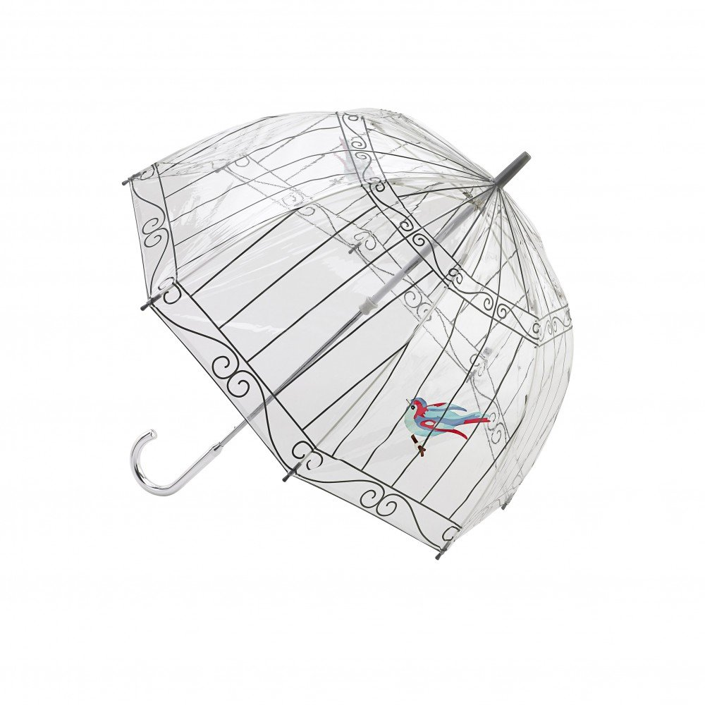 Paraguas Fulton jaula pájaro