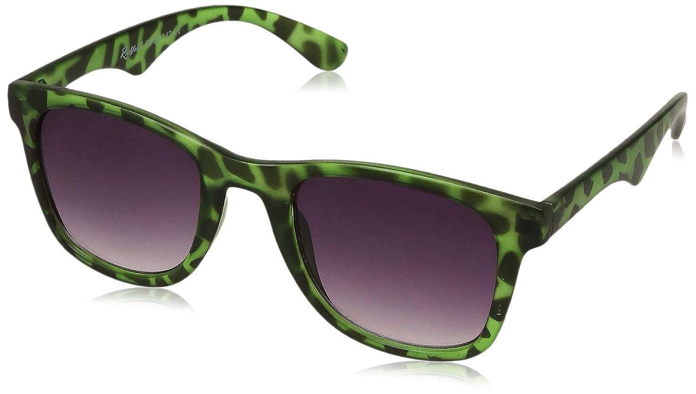 Rockford UV Protected Wayfarer Unisex Sunglasses - (RF-072-C4 Purple Color Lens)