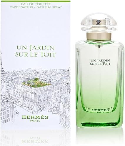 Hermes Un Jardin Sur le Toit Eau de Toilette Vaporizador 50 ml: Amazon.es