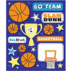 K&company Basketball Sticker Medley