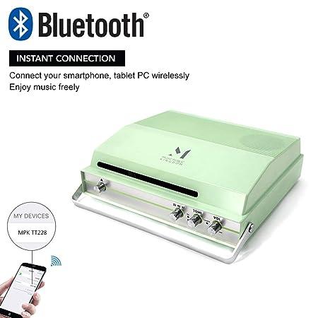 Amazon.com: Reproductor de grabación pequeño MPK giratorio ...