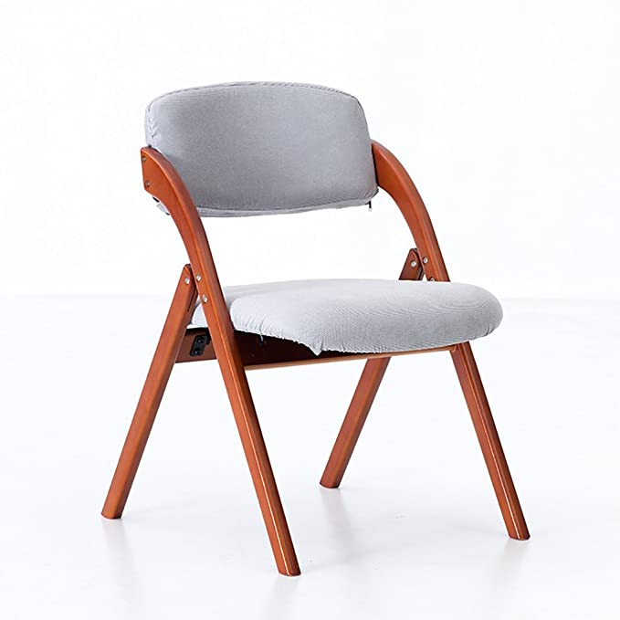 Amazon.com: Chair home solid wood dining chair/simple Nordic chair ...
