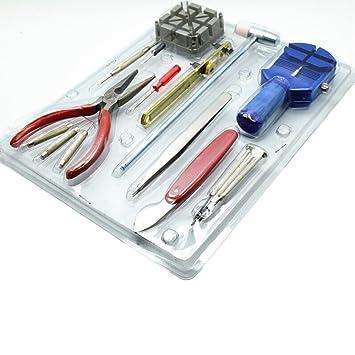 Best@ - Juego de herramientas para abrir relojes (16 unidades): Amazon.es: Bricolaje y herramientas