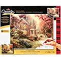 Plaid Creates Paint By Number Kit 16 By 20 Inch 22085 Victorian Autumn