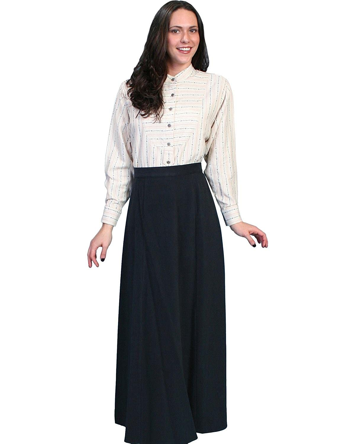 Victorian Costumes: Dresses, Saloon Girls, Southern Belle, Witch Scully Rangewear Womens Rangewear Brushed Twill Skirt - Rw530tan $76.75 AT vintagedancer.com