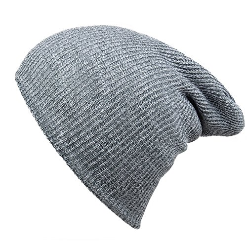 Striped Needle Warm Hat - iParaAiluRy Unisex Luxurious Fashionable Soft Slouchy Knitting Wool Cap Beanie Hat in Winter and Spring (Snake Juice Game)