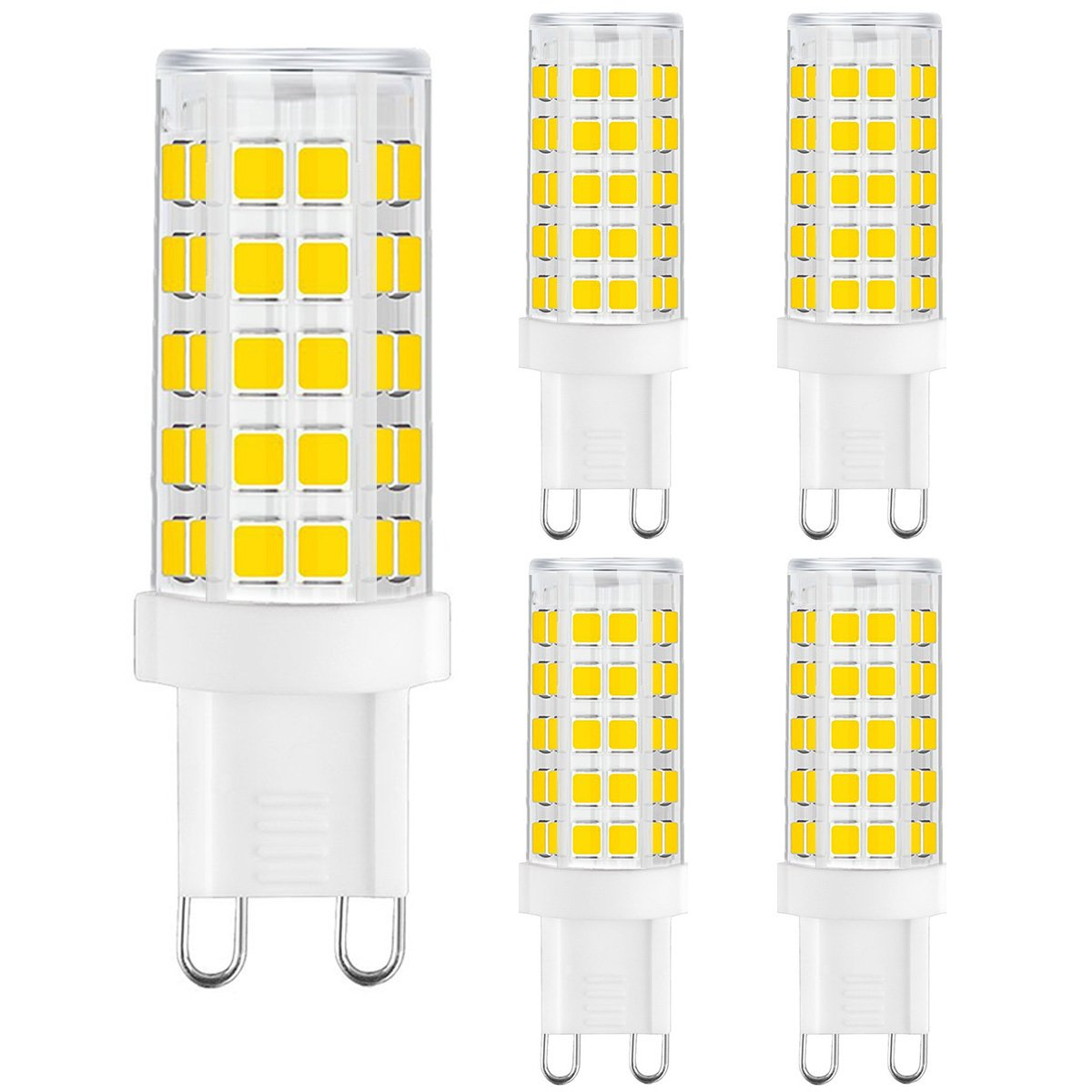 Nice and bright G9 LED bulbs