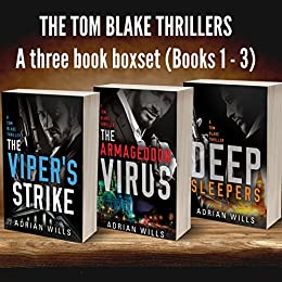 The Tom Blake Thrillers: A Triple Book Box Set by [Wills, Adrian]
