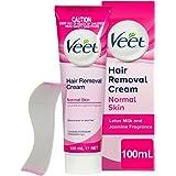 Veet Hair Removal Cream, Normal Skin, 100 ml