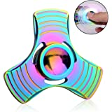 Hand Spinner, Fxexblin Fidget Spinner Fidget Toy Stress Reliever EDC Focus Toy Great for ADD, ADHD, Autism Adult Children, Anxiety Spinning Toy