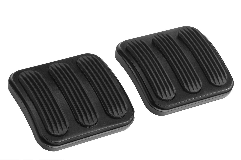 Lokar XBAG-6174 Black Curved Brake and Clutch Pedal Pad for Jeep Wrangler