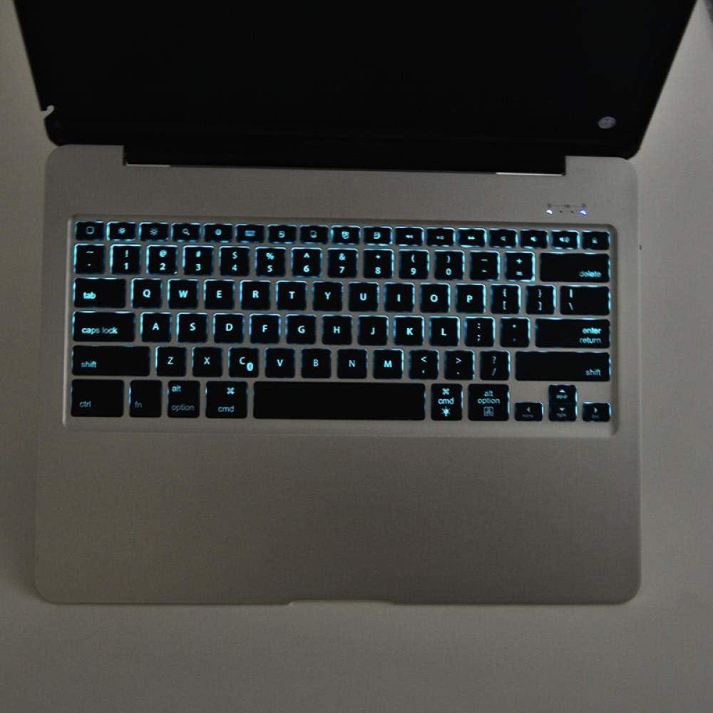 ZHEN LI Tablet PC Bluetooth Keyboard Pro12.9 Backlit Metal Case Silver Space Gray