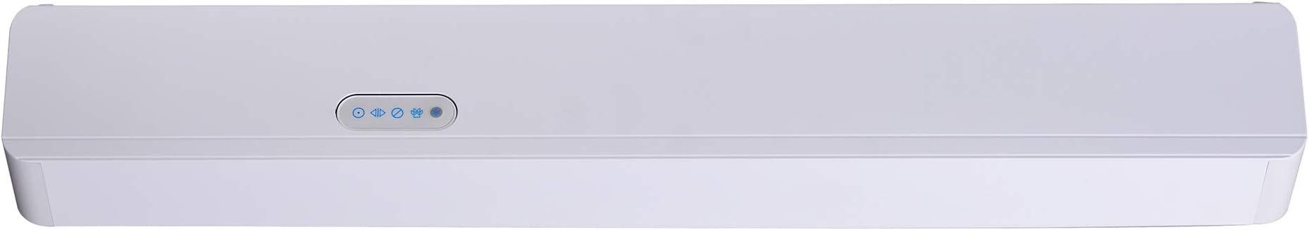 Operador automático de puerta corredera sin roca, abridor de puerta automático, operador eléctrico de puerta corredera, mecanismo de puerta automático (blanco): Amazon.es: Bricolaje y herramientas