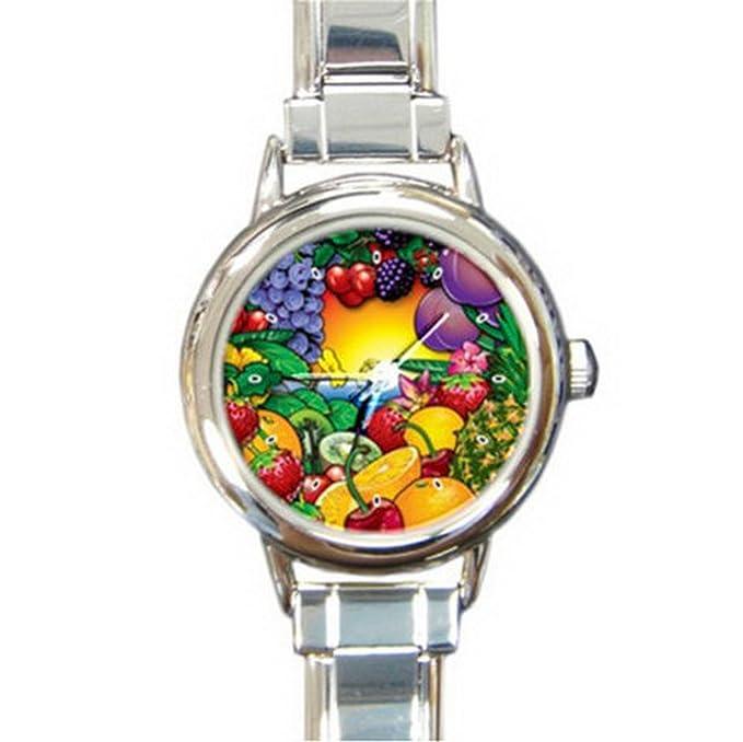 Amazon.com: dib033 comer sus frutas encanto italiano reloj ...