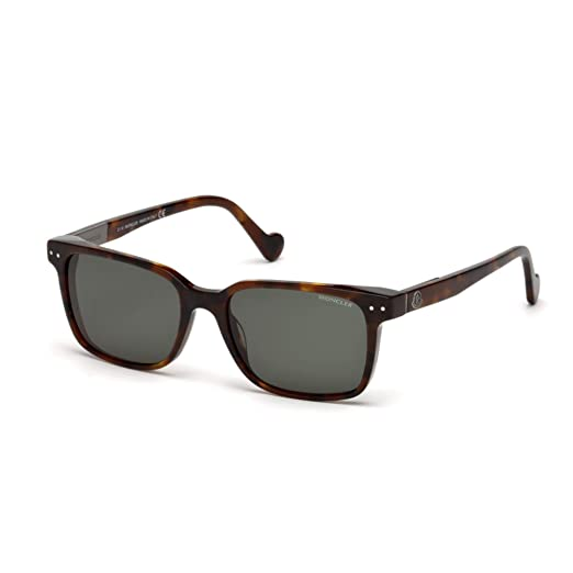 MONCLER ML0011 52N OCCHIALE DA SOLE HAVANA SUNGLASSES ...