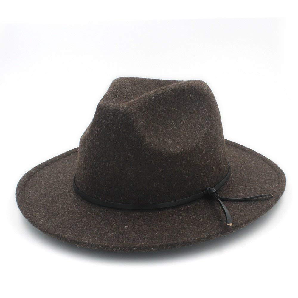 YChoice A Superb hat 100/% Wool Unisex Womens Mens Chapeu Feminino Fedora Hat for Laday Men Woolen Panama Cap for Perfect Winter