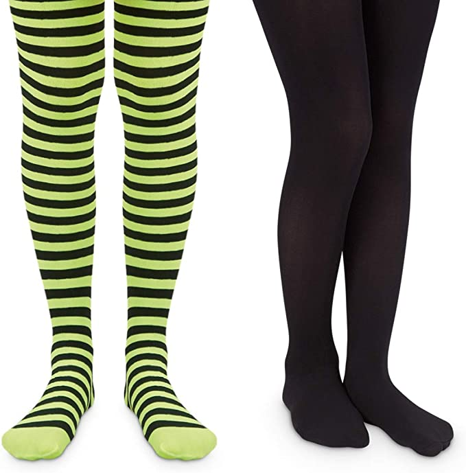 Girls Christmas Tights 2-4 years Striped Holiday Jefferies Boutique