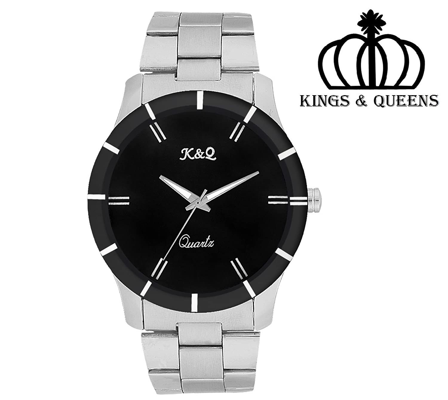 watch addic img wrist analog watches chain silver for round men dial classy heavy black