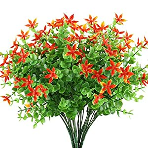 Mihounion ramas eucalipto plantas verdes artificiales for Plastico para estanques artificiales