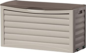 Suncast 63-Gallon Light Taupe Resin Deck Box