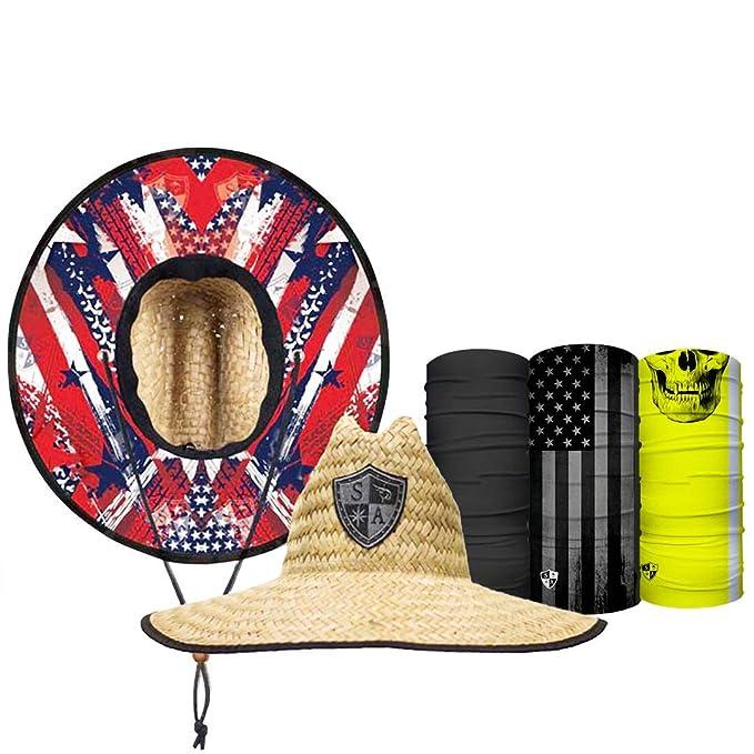 Amazon.com: S A Straw Hat Pack - Gorro de paja para hombre y ...