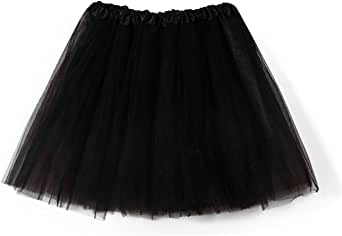 Aysimple Adult Tulle Skirts Ballet Tutu Layered Organza Lace Mini Skirt Womens Princess Petticoat for Prom Party
