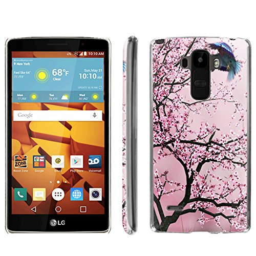 [ArmorXtreme] Phone Case for LG G Stylo LS770 / LG G4 Note Stylus / LG G Stylo H631 / MS631 [Clear] [Ultra Slim Cover Case] - [Cherry Blossom] -  ArmorXtreme for LG G Stylo H631