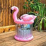 Inflatable Flamingo Ice Bucket