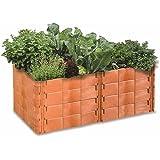 Juwel Hochbeet Grosse 2 Terracotta Amazon De Garten