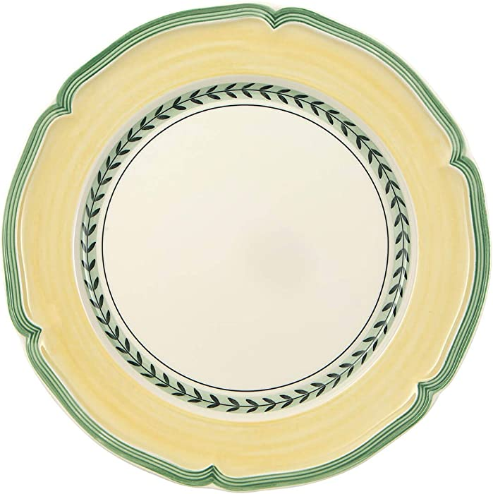 Villeroy & Boch French Garden Vienne Dinner Plate, 10.25 in, White/Multicolored