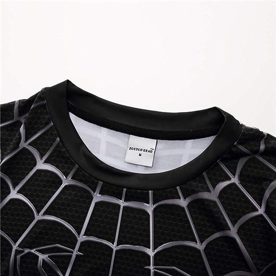 Cosplay Disfraz Spiderman 3D Imprimir Camisetas Hombre Compresión ...
