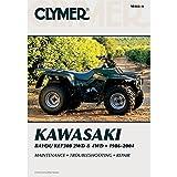 CLYMER ATV REPAIR MANUAL - KAWASAKI KLF 300 - 1986-2004 _M466-4