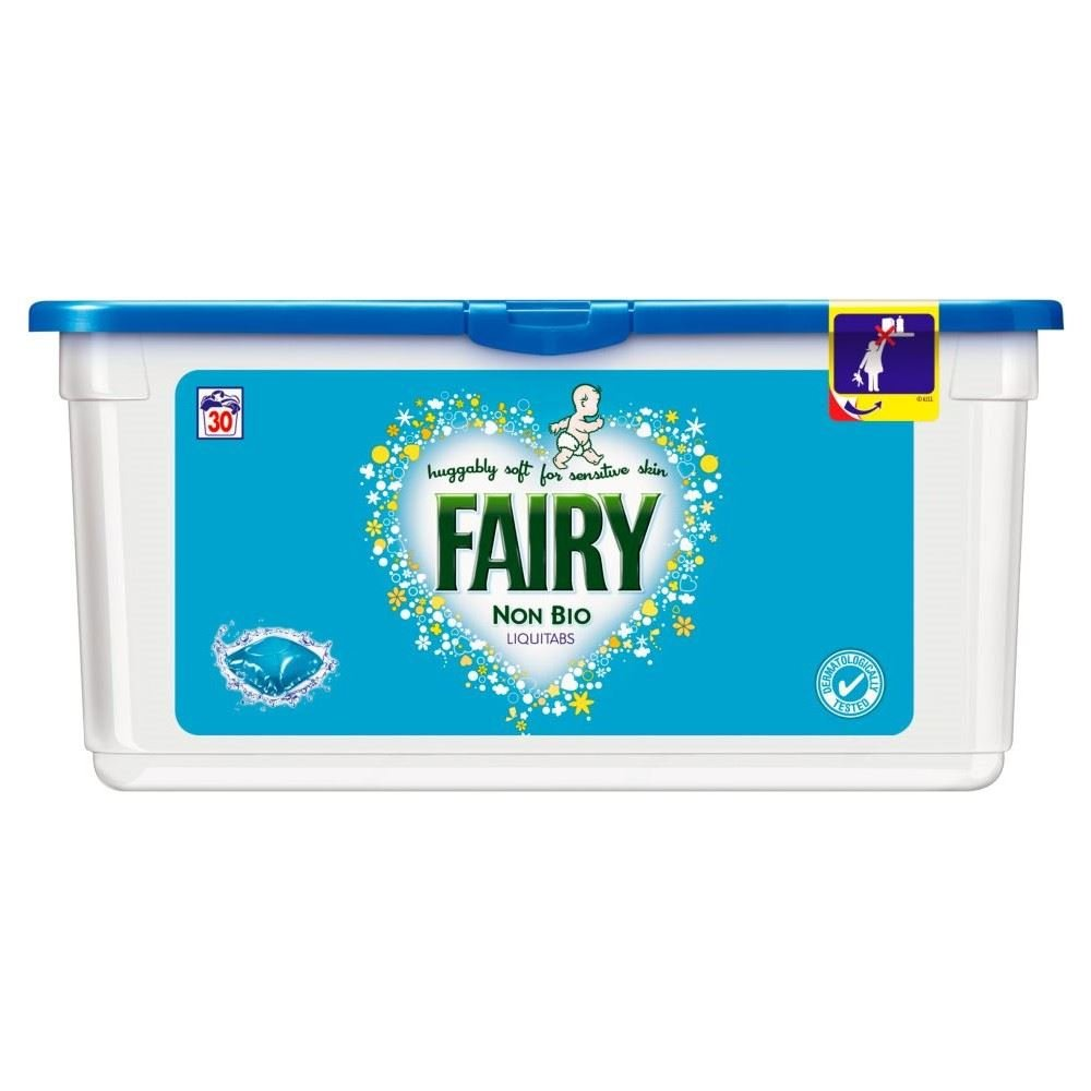 Fairy Non Biological Liquitabs - 30 Washes (30) Grocery