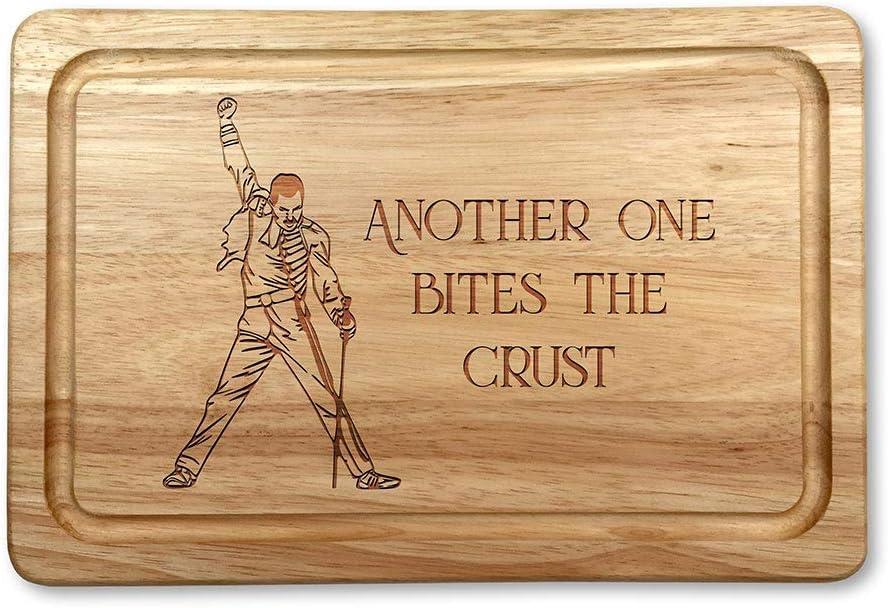 Freddie Mercury Planche /à d/écouper en bois de qualit/é sup/érieure 30 x 20 cm