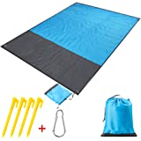 Volador Picnic Blanket 210x200cm, Portable Beach Blanket, Lightweight Pocket Blanket for Outdoor Camping, Picnic, Travel, Hiking.