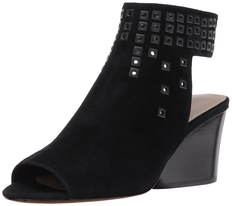Donald J Pliner Women's Janesp-KS Wedge Sandal, Carbon, 7.5 Medium US B01N0Z9AKQ 8.5 B(M) US|Black
