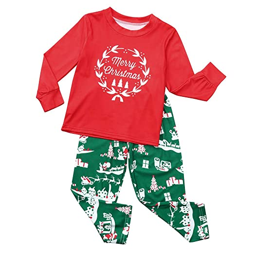 Christmas Pajamas Family Set Sleepwear 297f53b0d