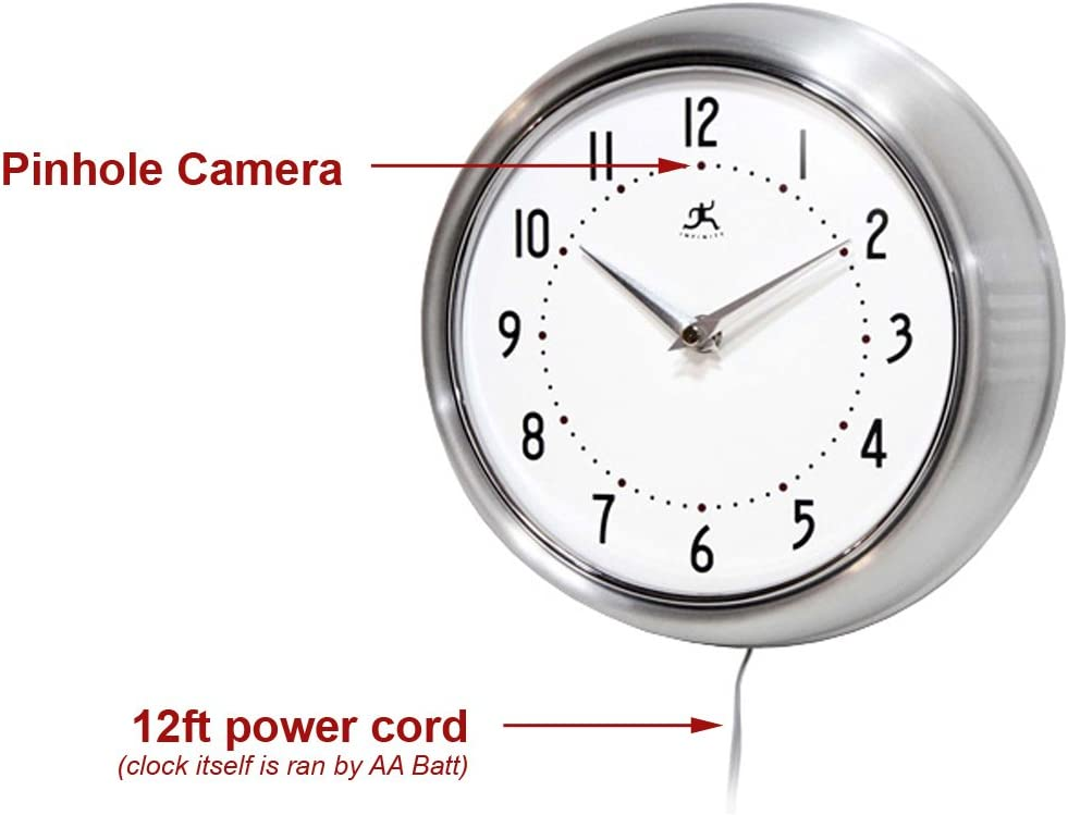 hidden Camera Clock: Wifi Spy Camera