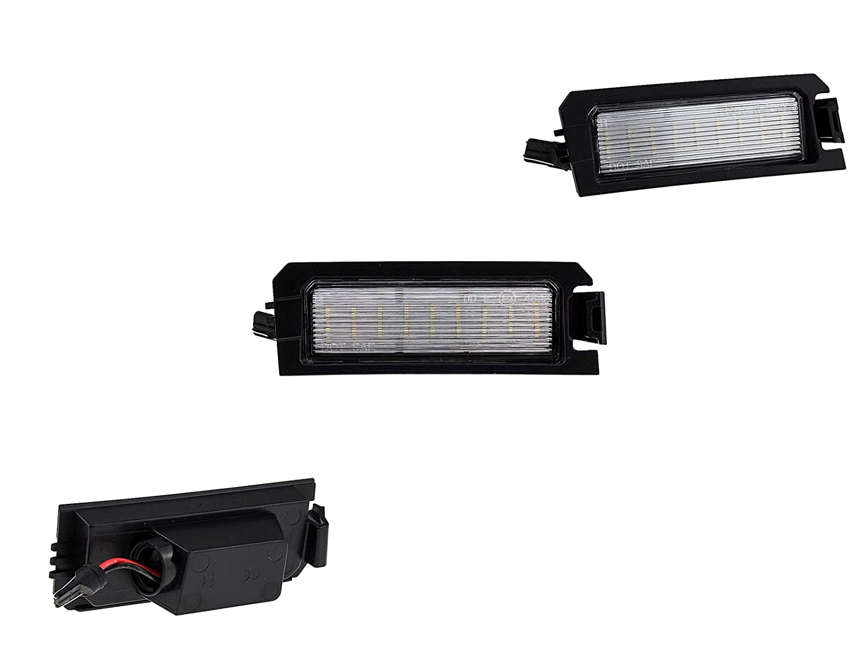 LETRONIX SMD LED Kennzeichenbeleuchtung Module con E-marcas