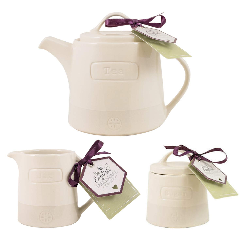English Tableware Company - Tetera de cerámica hecha a mano (700 ...
