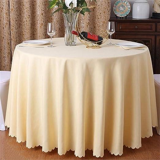 FMM mantel de boda mantel mesa de poliéster hotel banquete mesa ...