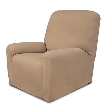 Amazon.com: Fundas de sofá de una pieza fáciles de usar ...