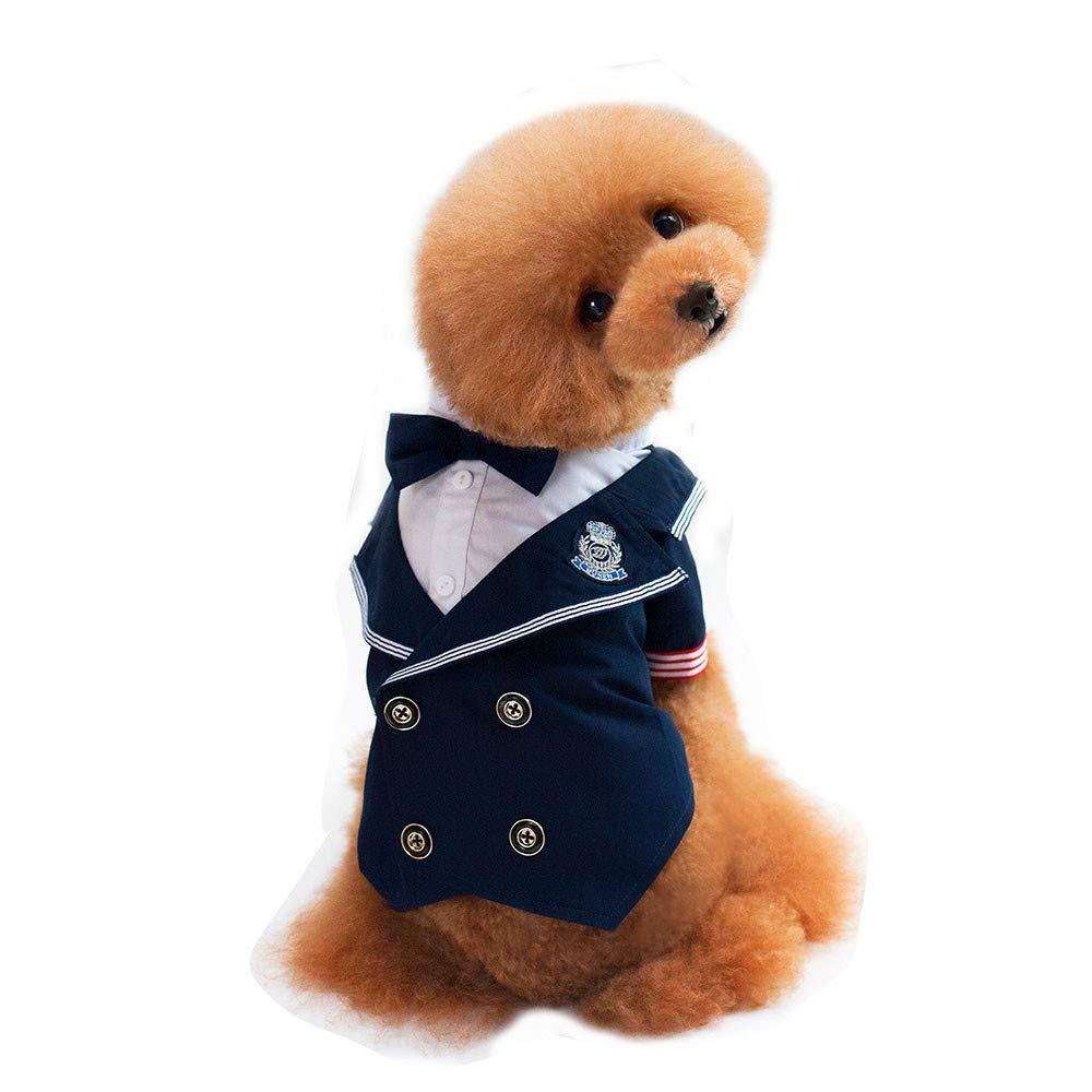 Ropa para Mascotas,Dragon868 Trajes de Camisa de Boda Formal para Perros de Mascota Chicos: Amazon.es: Ropa y accesorios