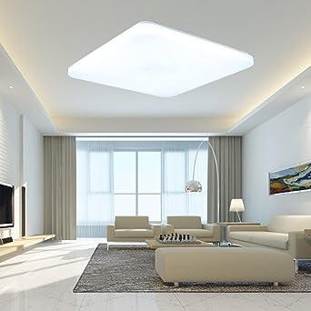 sailun w fro blanco plafn quadra ultraslim led lmpara de techo lmpara de pared panel bombilla